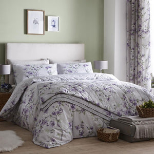 Dreams and Drapes-Suki-Duvet Cover in Lilac