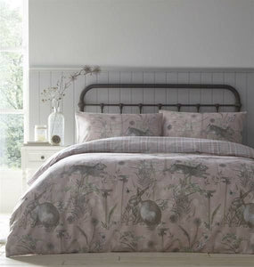 Duvet Cover-Rabbit Meadow
