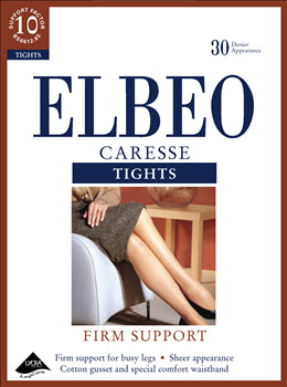 Elbeo Caresse-Ladies Firm Support Tights-30 Denier-Factor 10 Support