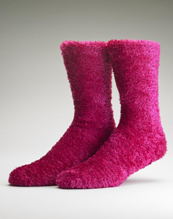 Ladies Bedsocks-Gaspe-Pink
