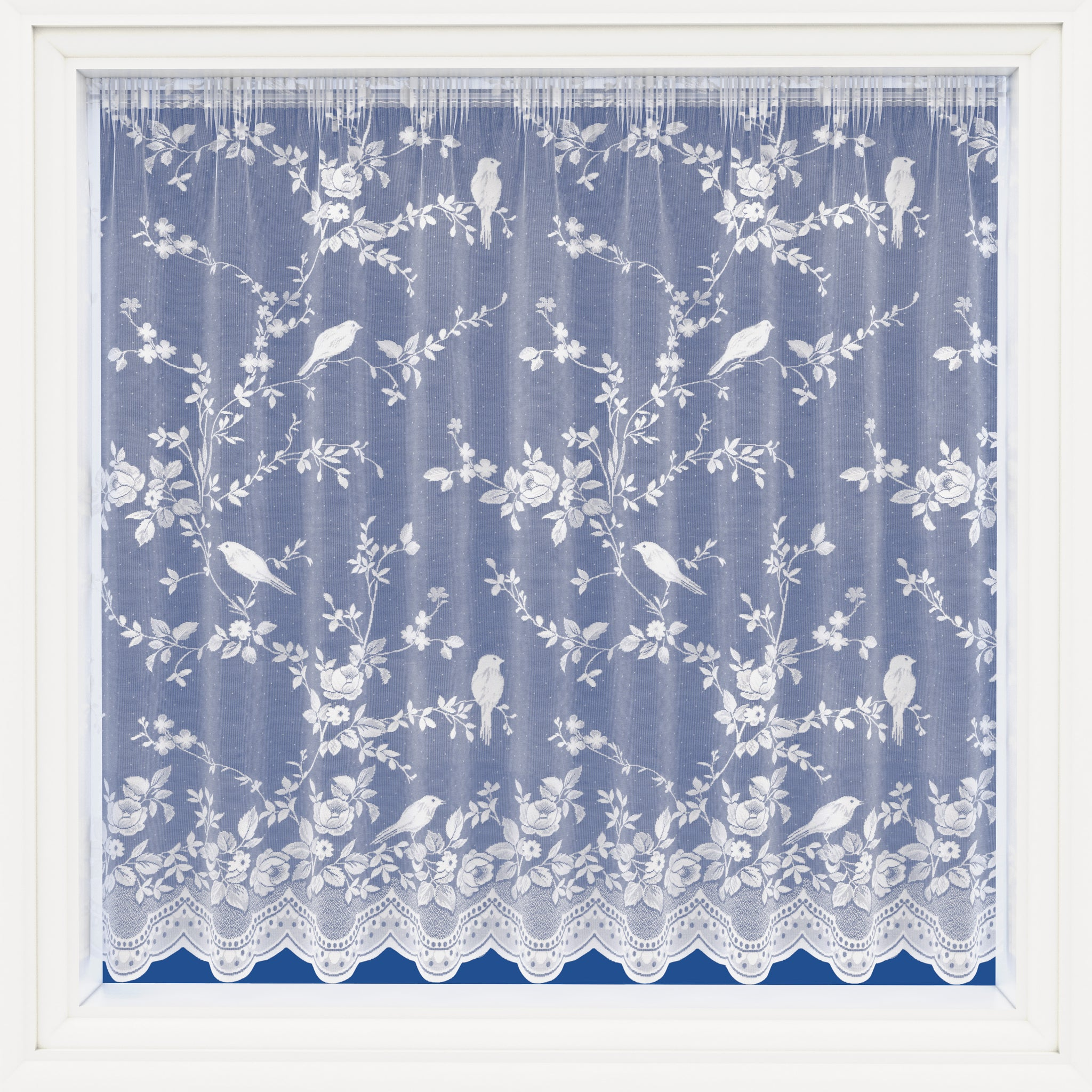 Net Curtains-Twitter Design-Style 4082-Cut to Order