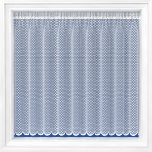 Net Curtain-Dotty Design 4126-Cut to Order