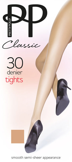 Pretty Polly-30 Denier Tights-Classic Range