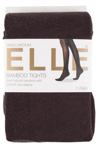 Elle-Plain Bamboo Tights-Winter Warm