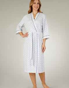 Slenderella-Ladies Housecoat-100% Cotton-HC3115
