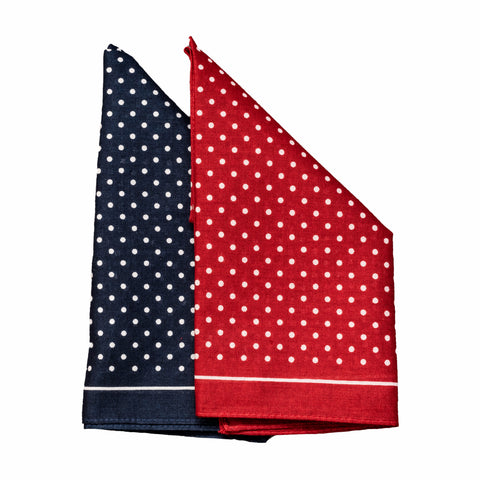 Mens-100% Cotton Single Handkerchief-Bandana