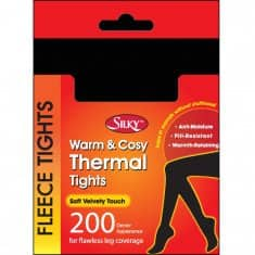 Silky-Ladies 200 Denier-Thermal Fleece Tights