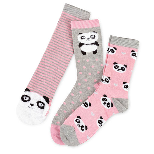 Totes-Ladies Novelty Socks-3 Pairs-Gift Boxed-3405N