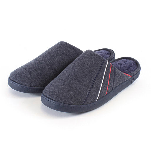 Mens Slippers-Jersey Mule-Totes Isotoner-99320