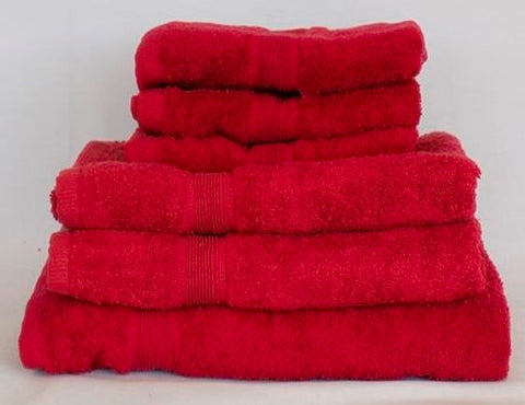 100% Egyptian Cotton Towels-Berry