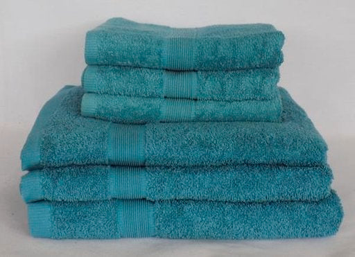 100% Egyptian Cotton Towels-Aqua
