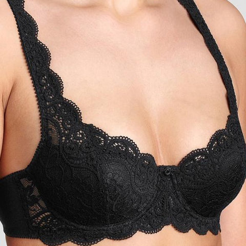 Triumph-Amourette 300 WHP-Ladies Wired Padded Bra-Black