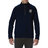 Gildan Qtr Zip Dryfit Sweater