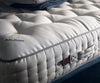 Close up corner shot of the Vispring Regal Superb in medium, the most popular mattress and tension.