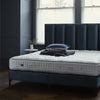 Vispring's Regal Superb with Ceto Headboard and matching upholstered divan.