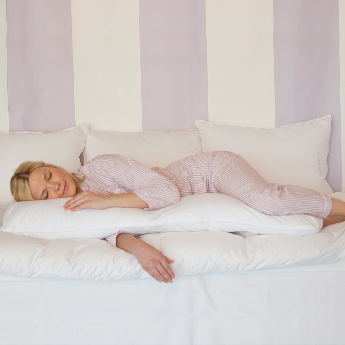 The Pillow Bar Slumberlicious Down Body Pillow Free Shipping The