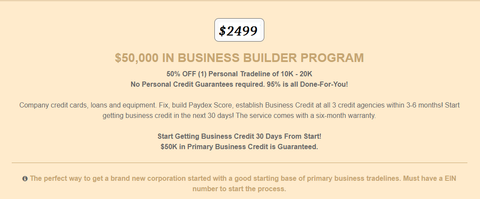 Build New Business Credit For New Corp. Or LLC