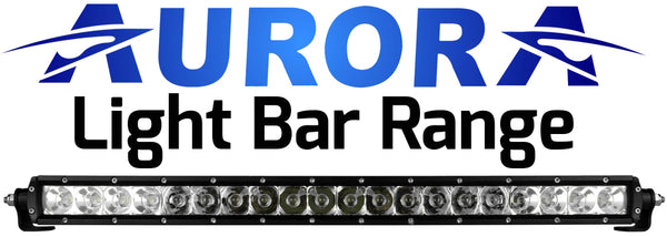 Aurora 5w LED Light Bar Range Distributed by Offroad Industries Australia 24 Month warranty