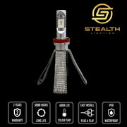 Stealth Lighting LED Headlight Conversion Kit suitable for Toyota Land Cruiser Prado