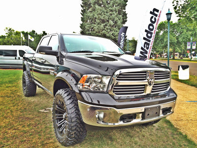 Bushwacker Pocket Flares suitable for Dodge Ram 1500 DS 2009 - 2021
