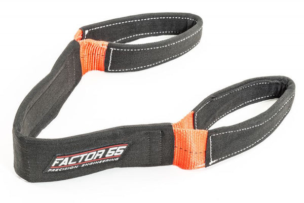 Factor 55 Shorty Strap Winch Recovery Strap Offroad