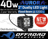 "Aurora 2"" Dually Flood LED Light Bar"