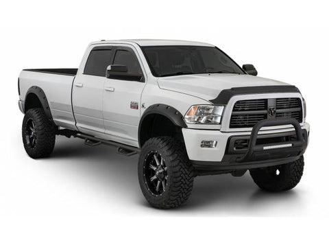 "Bushwacker Dodge Ram 2500 3500 3.5"" Wide Max Coverage Flares OE Matte Black"