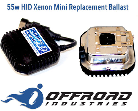 55w HID Mini Replacement Ballast