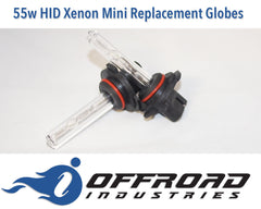 55w Mini HID Replacement Globes