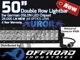 "Aurora 50"" Inch Double Row LED Light Bar Combination Beam"