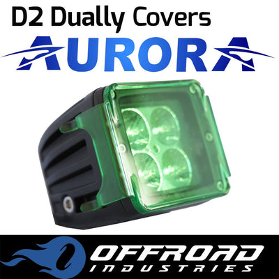 Aurora Green D2 Dually Light Cover