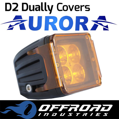 Aurora Amber D2 Dually Light Cover