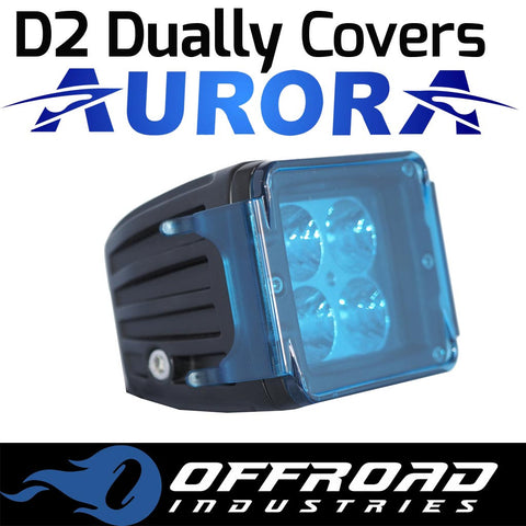 Aurora Blue D2 Dually Light Cover