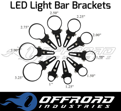 Aurora O Mount LED Light Bar Bracket