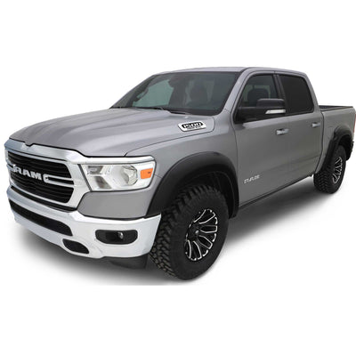Bushwacker Flares Smooth Matte Black suitable for Dodge Ram 1500 DT 2019-2020