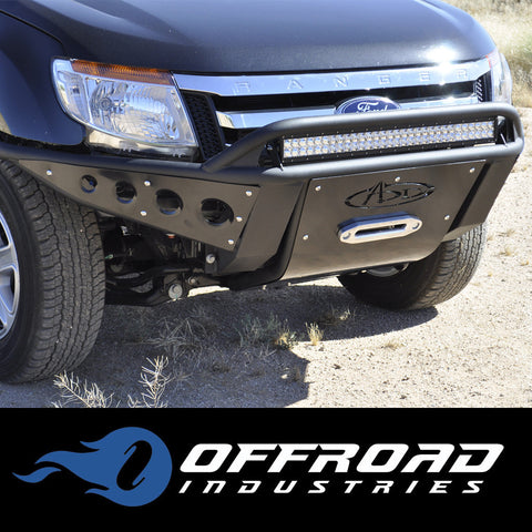 Ford Ranger PX Mk1 Mk2 A.D.D. Stealth Bull Bar Winch Compatible – Offroad Industries