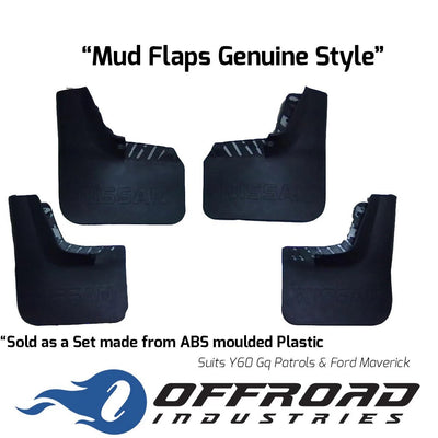 Mud Flaps Suitable for Nissan Patrol GQ Y60