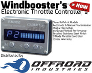 9 Mode Windbooster Throttle Controller suitable for Nissan Navara D40
