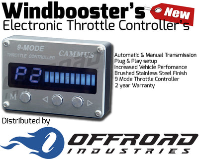 9 Mode Windbooster Electronic Throttle Controller Suitable for Holden Colorado RC 2009-2011