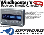 9 Mode Windbooster Throttle Controller suitable for Toyota Land Cruiser 200 Series