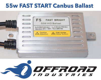 55w HID Fast Start Digital Replacement Ballast