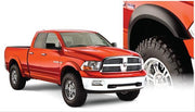 Bushwacker Smooth Flares Matte Black suitable for Dodge Ram 1500 DS