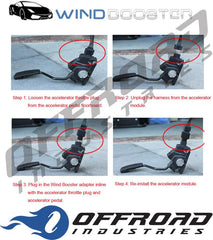 9 Mode Windbooster Throttle Controller suitable for Ford F150 Raptor 2012 onwards