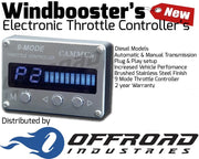 9 Mode Windbooster Throttle Controller suitable for Holden Colorado RG 2012 onwards