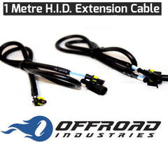 1 Metre HID Extension Cable (PAIR)