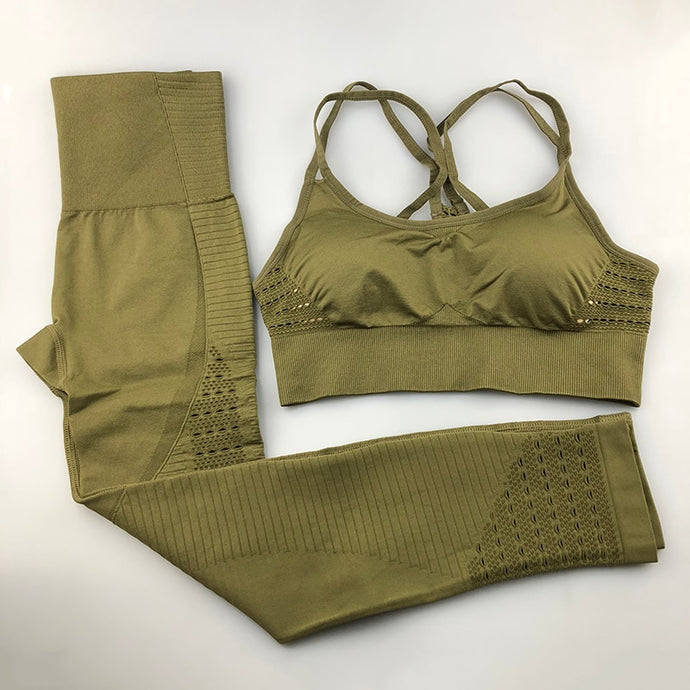 Fitness set/ Bottoms and Top