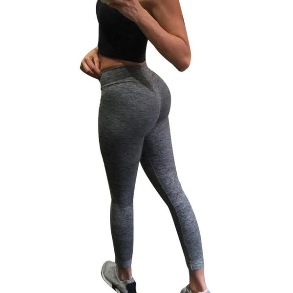 2017 Spring Women Sexy Yoga Sports Pants Compression Leggings Leggings Gym Skinny Fitness Sportswear XL wholesale #EW