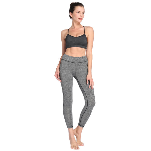 Solid Slim Leggings Women Long Pants Workout Leggings Casual Skinny Fitness Trousers female Sportswear Autumn XXL 6-color