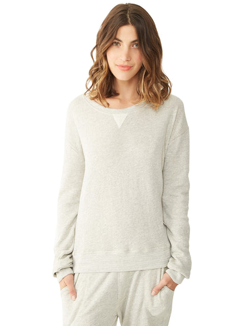 Organic Light French Terry Crew Sweatshirt