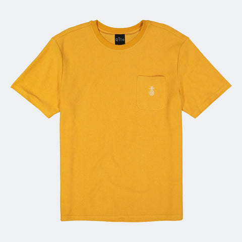 Reversed Terry Pocket Tee